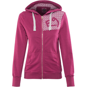 E9 W's Loop Zipped Hoody magenta